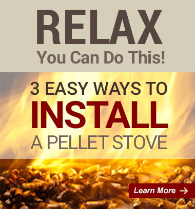 Relax - You Can Do This!   3 Easy Ways to Install a Pellet Stove